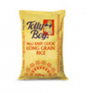 20KG Tolly Boy Easy Cook Long Grain Rice | Buy Online At The Asian Cookshop